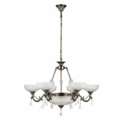 Graciela Lustra 8xE27, 60W, metal-sticla - Iluminat corpuri de iluminat
