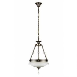 Graciela Lustra 2xE27, 60W, metal-sticla - Iluminat corpuri de iluminat