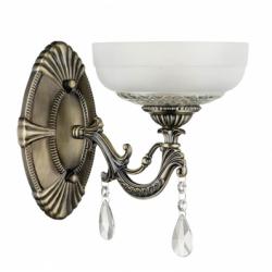 Graciela  Aplica 1xE27, 60W, metal-sticla - Iluminat corpuri de iluminat