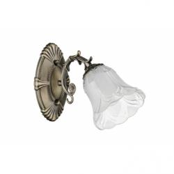 Clotilde Aplica 1xE27, 60W, metal-sticla - Iluminat corpuri de iluminat