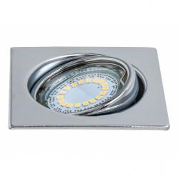 CRISTALDREAM Spot crom LED 1x4.5W, GU10, lumina calda - Iluminat corpuri de iluminat