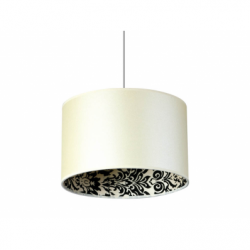 SAPARATO IN BIANCO Lustra 1xE27, 60W, textil - Iluminat corpuri de iluminat