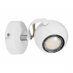 LEA Spot alb 1xGU10, 4.5W, metal - Iluminat corpuri de iluminat