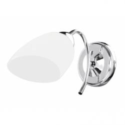 Viletta Aplica 1xE27, 60W, alb, sticla - Iluminat corpuri de iluminat