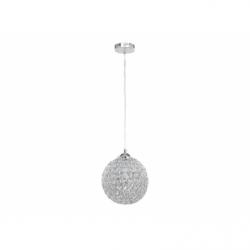 IMPERIA Pendul cristal 1xE27, 60W, metal - Iluminat corpuri de iluminat