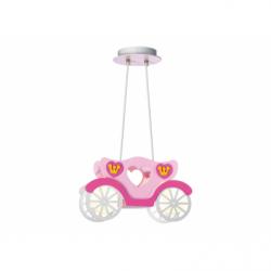 CINDERELLA Lustra roz 2xE27, 40W, plastic - Iluminat corpuri de iluminat