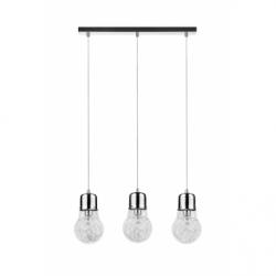 BULB Lustra 3xE27, 60W, IP20, metal - Iluminat corpuri de iluminat