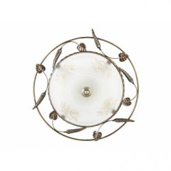 EL GRADO Plafoniera 2xE27, 60W, IP20, sticla - Iluminat corpuri de iluminat