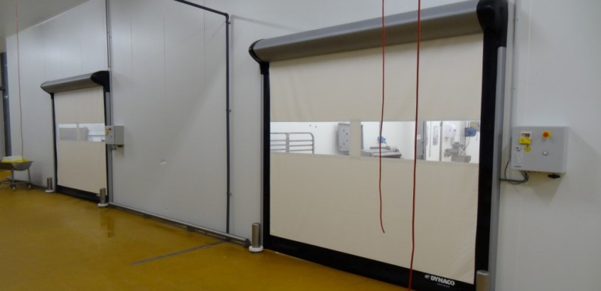 Usi rapide pentru camere curate - Solutii pentru industria alimentara de la Gunther Tore