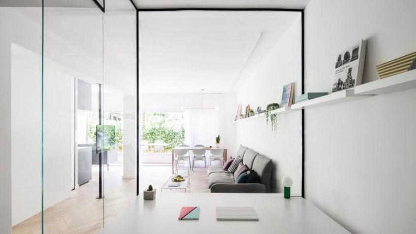 Trucuri menite să optimizeze spațiul într-un apartament din Tel Aviv - Trucuri menite să optimizeze spațiul