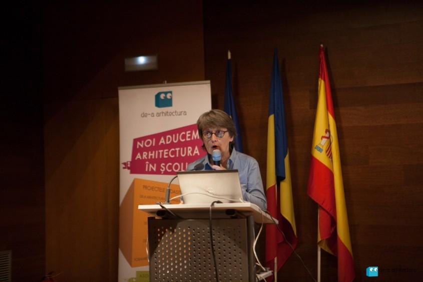 Arh Ewa Struzynska - Paris UIA - De-a Arhitectura Talks editia a-II-a - conferinta internationala dedicata
