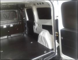 Capitonari auto Tego pereti laterali - Capitonari si protectii laterale pentru autoutilitare cu Tego profesional