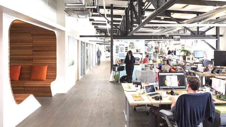 Birourile Autodesk din San Francisco - Birourile Autodesk