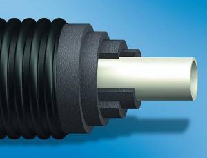 Uponor Ecoflex Thermo Single - Tevi preizolate