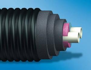 Uponor Ecoflex Thermo Twin - Tevi preizolate