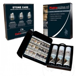 LTP Stone Care Kit - Pachet complet pt Piatra Naturala (curata, impermeabilizeaza si intretine) - Impermeabilizant piatra naturala