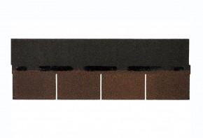 Sindrila bituminoasa pentru acoperisuri si pereti Bardoline Rectangular - Placi bituminoase tip sindrila