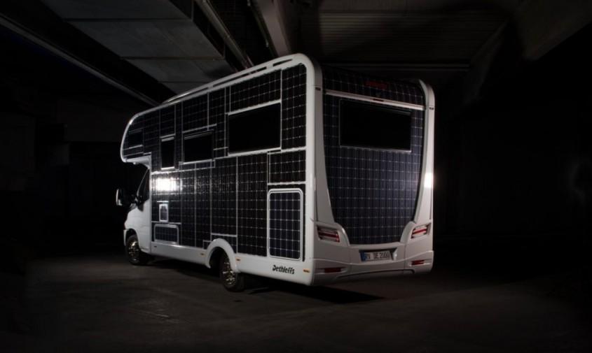 Dethleff Iveco Daily Electric - Noua autorulotă electrică ce va funcționa prin panouri solare