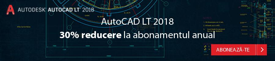Flash Promo – 30% reducere la AutoCAD LT 2018 - Flash Promo – 30% reducere la AutoCAD LT 2018