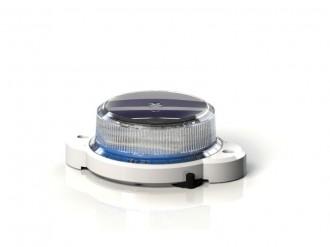 Baliza solara OL2A lumina albastra 8cd - Balize solare