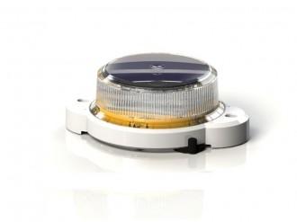 Baliza solara OL2A lumina galbena 25cd - Balize solare