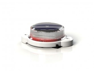 Baliza solara OL2A lumina rosie 18cd - Balize solare