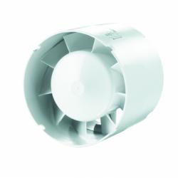 Ventilator axial diam 125mm, motor cu rulment - Ventilatie casnica ventilatoare axiale in linie
