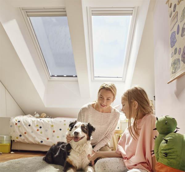 Soluția completă VELUX vă asigură minim 25 de ani de confort în mansardă - Soluția completă