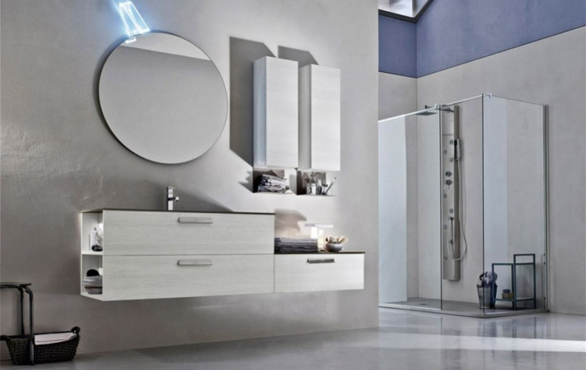 Mobilier baie Ardeco colectia Start Line STL15 - Mobilier de baie premium - functionalitate si design