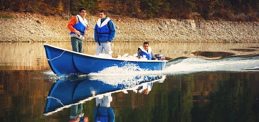 Lotca - barca de pescuit si agrement - Barci pescuit