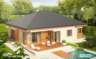 Casa pe structura din BCA - Eris - Case pe zidarie tip Ytong