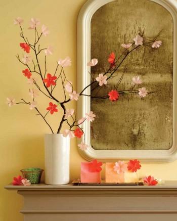 Inspiratie de primavara: decoratiuni cu flori  - Inspiratie de primavara: decoratiuni cu flori