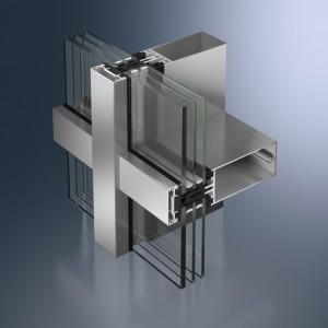 Profil din aluminiu pentru pereti cortina - Schüco FW 60+ SG.SI - Pereti cortina cu profile din aluminiu