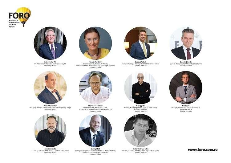 FORO 2018: manageri de hoteluri și de restaurante, chefi, arhitecți și designeri - FORO 2018: manageri de hoteluri și de restaurante, chefi, arhitecți și designeri