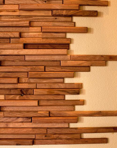 Cand mai putin lemn pe pereti inseamna de fapt mai mult - Cand mai putin lemn