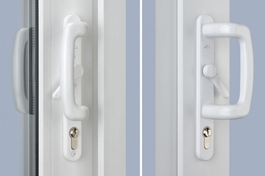 Set manere culisare Roto Inline E cu incuietoare - Manere confortabile culisante, cu design Roto Line
