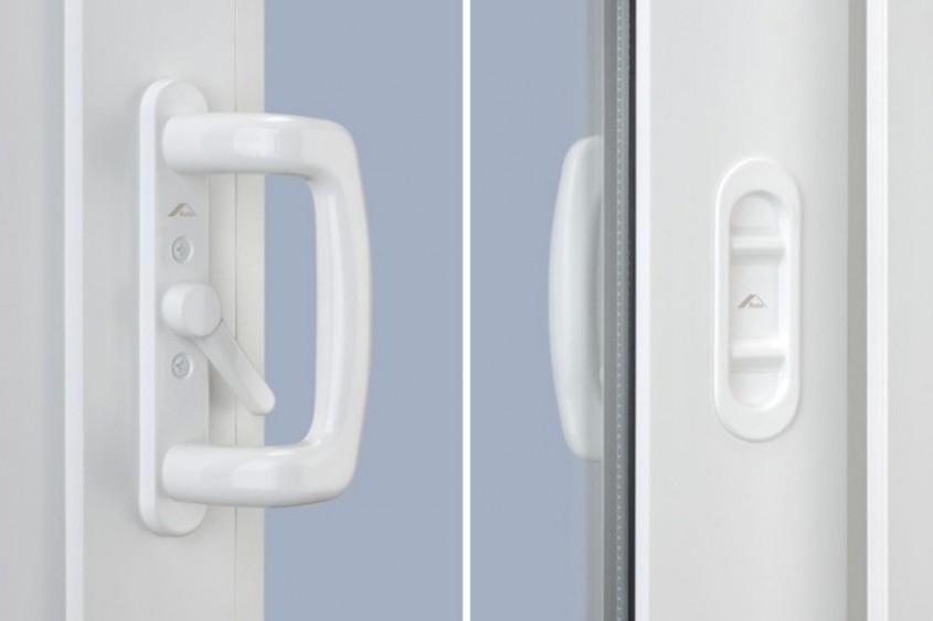 Set manere culisare Roto Inline A - Manere confortabile culisante, cu design Roto Line