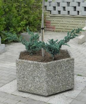 Jardiniera Hexagonala - Ghivece din beton