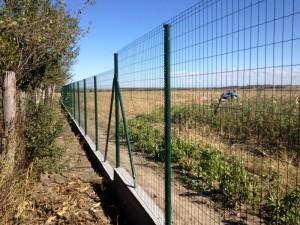 Hortaplast - plasa sudata zincata si acoperita cu pvc - Panouri pentru garduri metalice