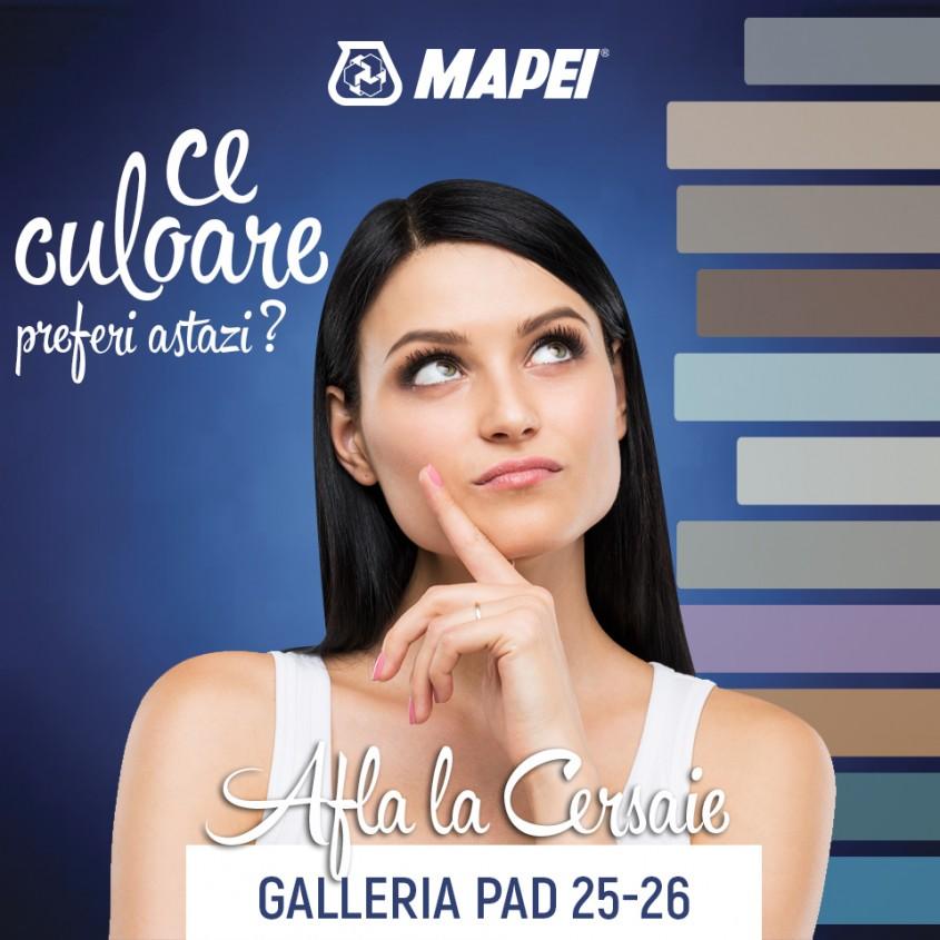 Descoperiti culorile preferate alaturi de Mapei la Cersaie 2016! - Descoperiti-va culorile preferate alaturi de Mapei