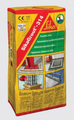SikaGrout®-314 - Mortar expandabil de inalta performanta cu contractii reduse - Solutii de subturnare - SIKA