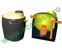 Separator de uleiuri si hidrocarburi cu filtru coalescenta - Separatoare ulei si hidrocarburi cu filtru de coalescenta