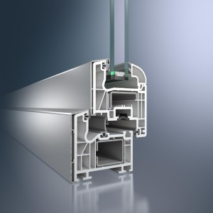 Profil din aluminiu pentru ferestra Corona TopAlu - Sistem de fereastra Corona TopAlu