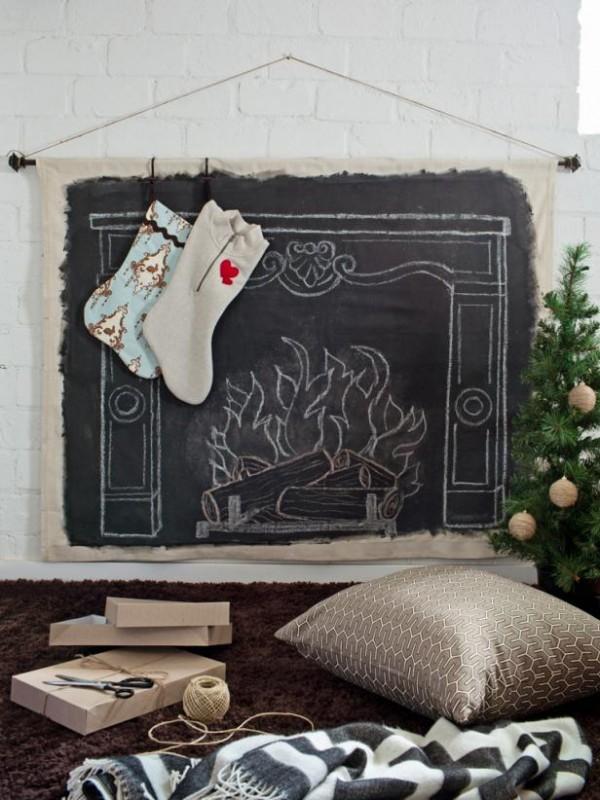 Nicio casa fara sosete festive agatate de semineu - o decoratiune DIY pentru Craciun - Nicio casa fara sosete festive agatate de semineu - o decoratiune DIY pentru Craciun