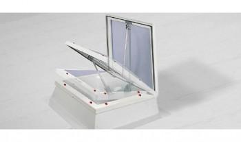 JET Combi - acces acoperis, ventilatie si trapa de fum - Cupolete pentru iluminare si ventilare - JET