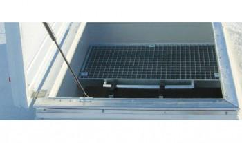 Trapa acces acoperis JET - Cupolete pentru iluminare si ventilare - JET