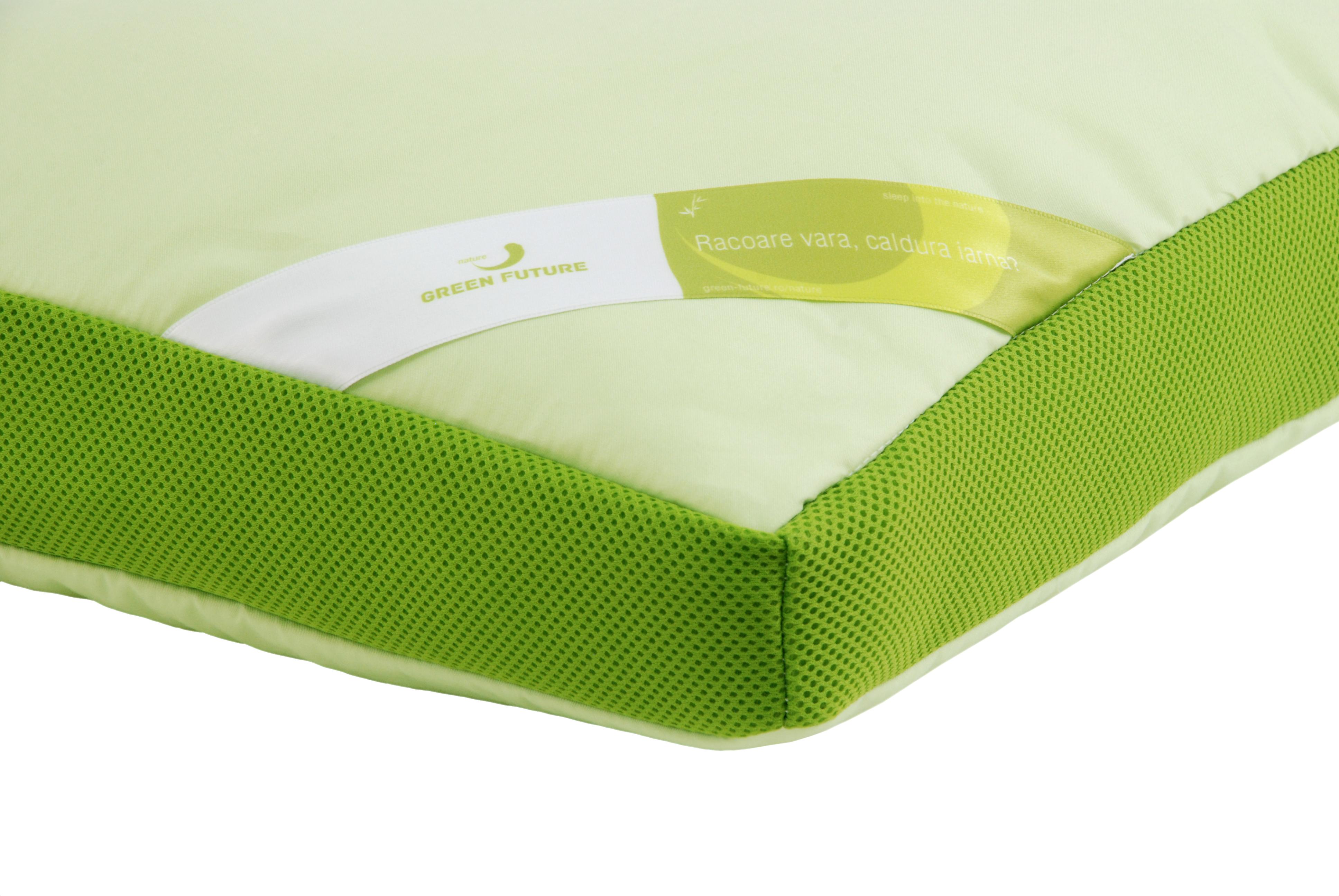 Perna Aero Memory bambus GREEN FUTURE - Ghidul alegerii pernei perfecte
