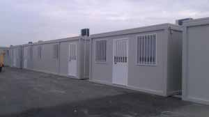 Proiect Punct de Trecere a Frontierei Nadlac - structuri metalice containere si constructii modulare - Proiect