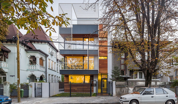 Imobil rezidential Bucuresti str Gral Dr Atanasie Demosthene 29 - Premiile Bienalei Nationale de Arhitectura editia