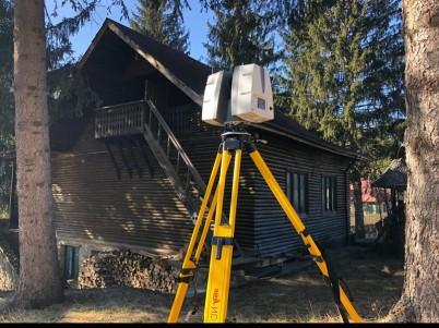 Topografie inginereasca - scanare 3D Muzeul Chihlimbarului - Scanare 3D pentru monumente istorice